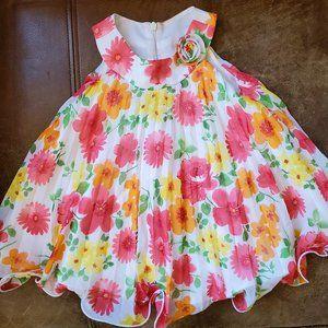 Toddler Floral Dress American Princess
